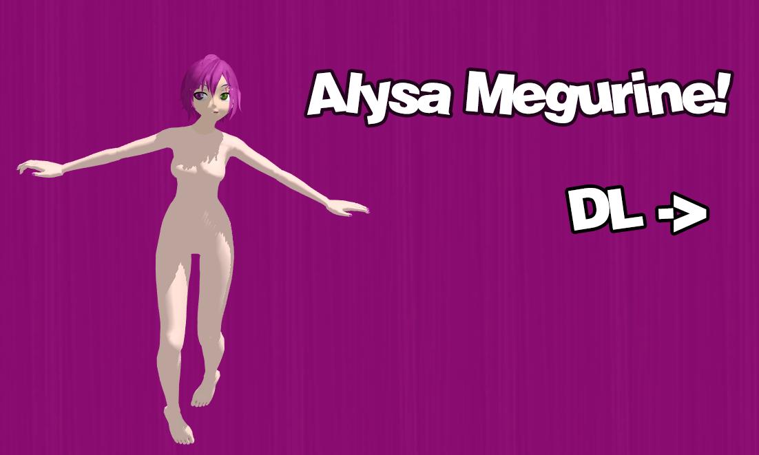Alysa Megurine - Download by NekoSeeyuNya