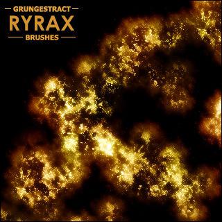 Ryrax's Grungestract Brushes by Ryrax