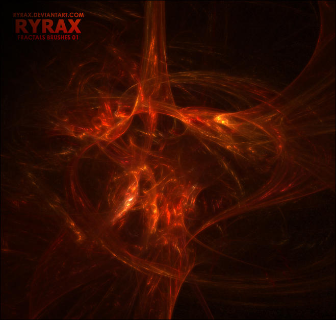 Ryrax's Fractal Brushes by Ryrax