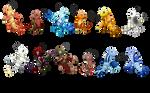 (CLOSED) Zodiac Lobkings Adoptables