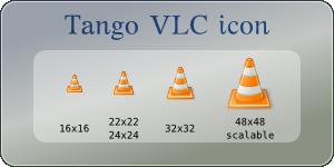 Tango VLC icon by mischamajskij
