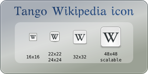 Tango Wikipedia logo-icon by mischamajskij