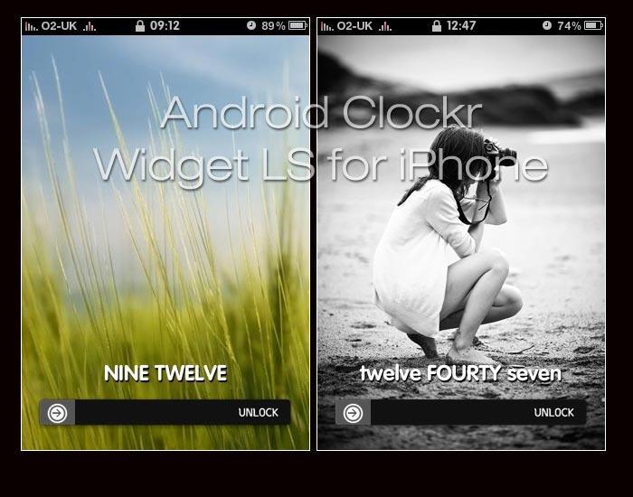 Android Clockr Lockscreen Mod by Geordie-Boyo