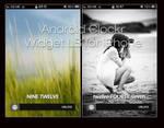 Android Clockr Lockscreen Mod