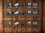 LauncherPro Dock Skin 2 by Geordie-Boyo