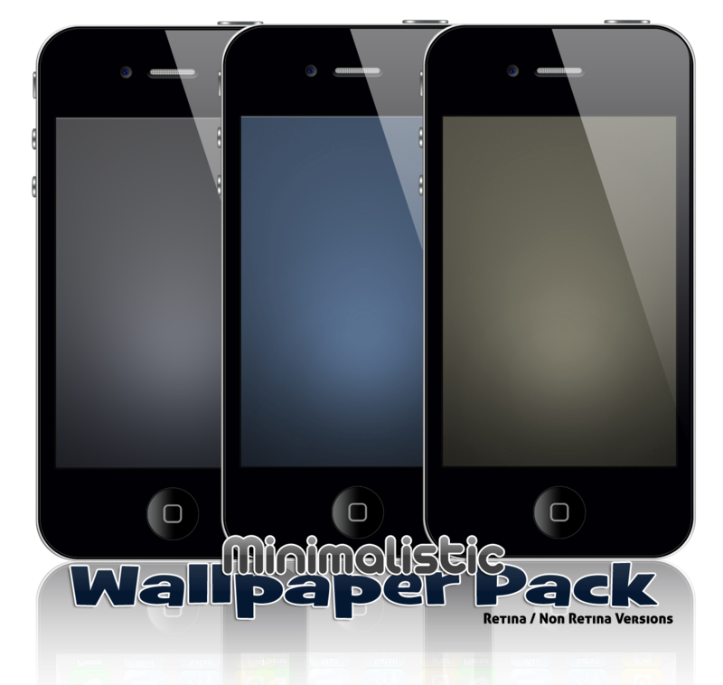 Minimalistic Wallpaper Pack for iPhones by Geordie-Boyo
