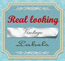Photoshop Vintage Label PSD by Techytez