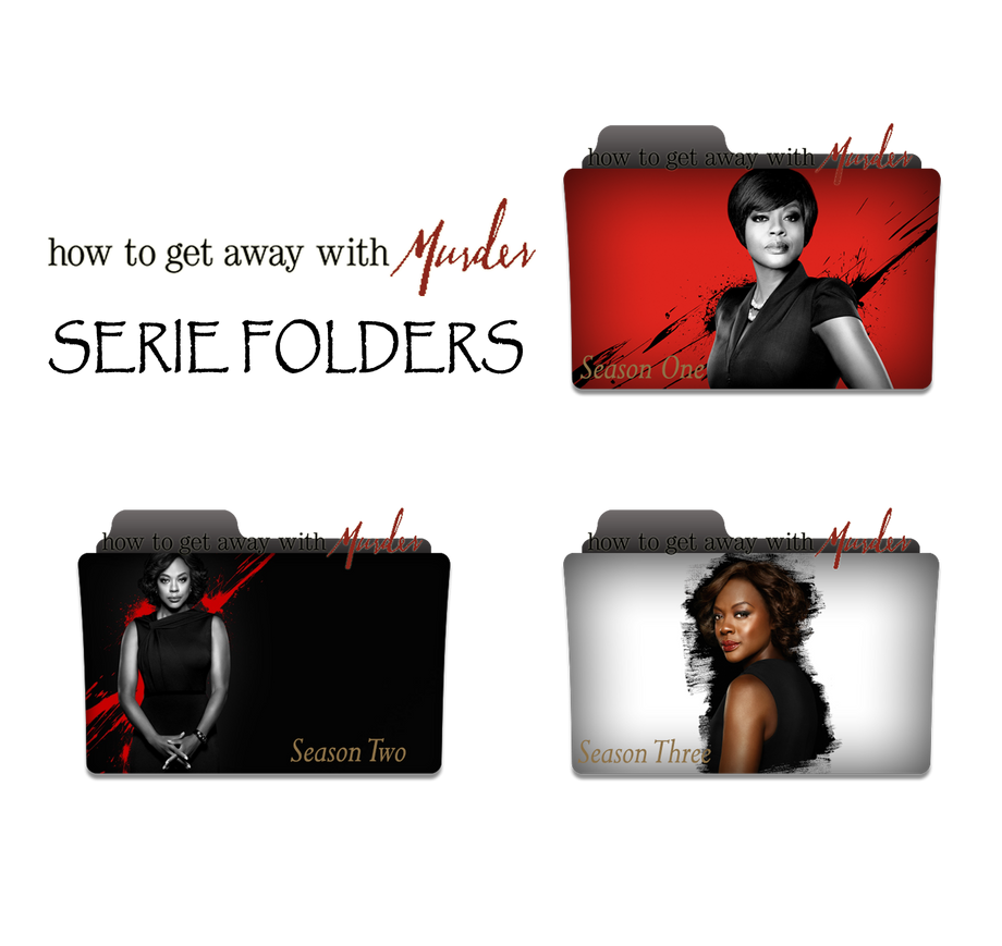 how to get away with murder serie folders by andreicons clemente on deviantart. Black Bedroom Furniture Sets. Home Design Ideas