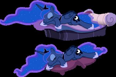 Sleeping Luna(s) by Yanoda