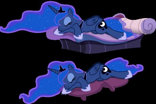 Sleeping Luna(s)