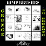 Gimp Brush Pack