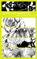 Flower Line textures 04 by mini0714