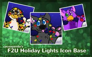 FREE Holiday Lights Base by CocoaPanda