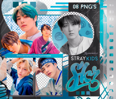Stray Kids (UNLOCK: GO LIVE IN LIFE) PNG Pack #10
