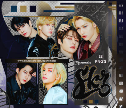 Stray Kids - CLIO - PNG Pack #17 by Anemoias