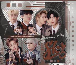 Stray Kids - PNG Pack #18 by Anemoias