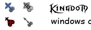 Kingdom Hearts Cursors