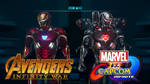 Infinity War Iron Man  - Marvel VS Capcom Infinite by Fewtch