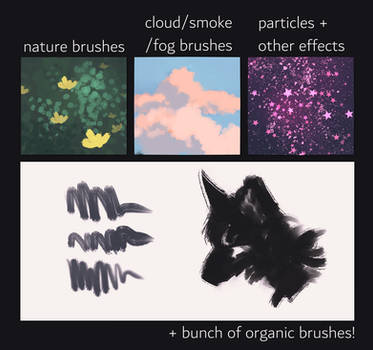 paint tool sai scatter brushes (free to download!)