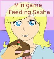 Minigame: Feeding Sasha by daysdays