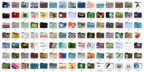 Windows folder icons (.ico format)