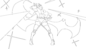 Bishoujou Senshi Dark Knight by jeffreylai
