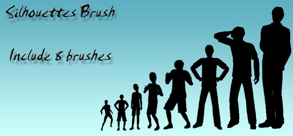 Silhouette Brush Pack