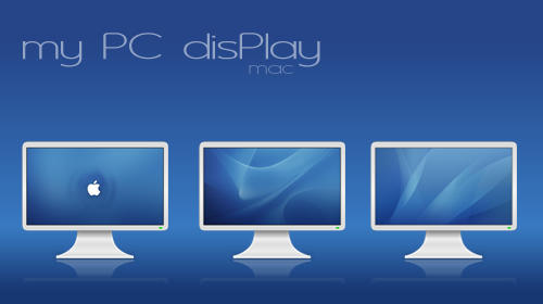 my PC disPLAY mac by zazac