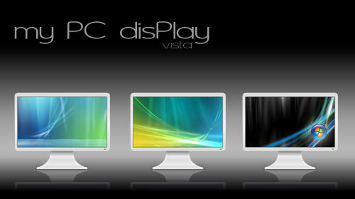 my PC disPLAY vista by zazac
