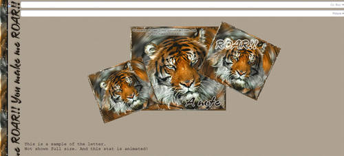 make me roar by mona by CreativeDesignOutlet