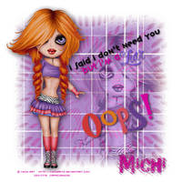 Michi Art - Liar by CreativeDesignOutlet