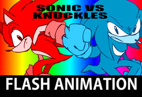 Sonic vs Knuckles April Fools by Aerobian-Angel