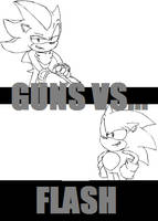 'Guns vs...' ANIMATED by Aerobian-Angel