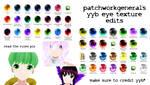 YYB Eye Texture Edits +DL