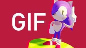Sonic The Hedgehog Lowpoly 3D Model