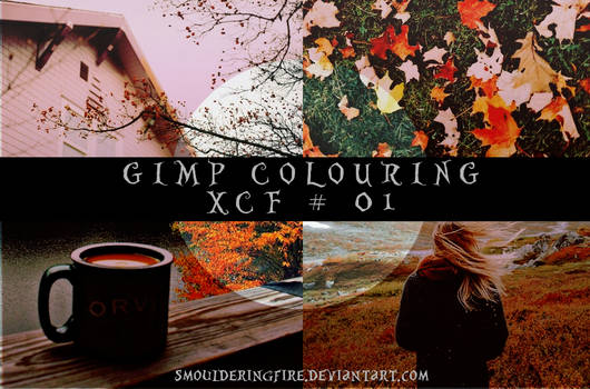GIMP XCF Colouring