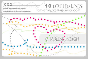 Dotted Lines set 01