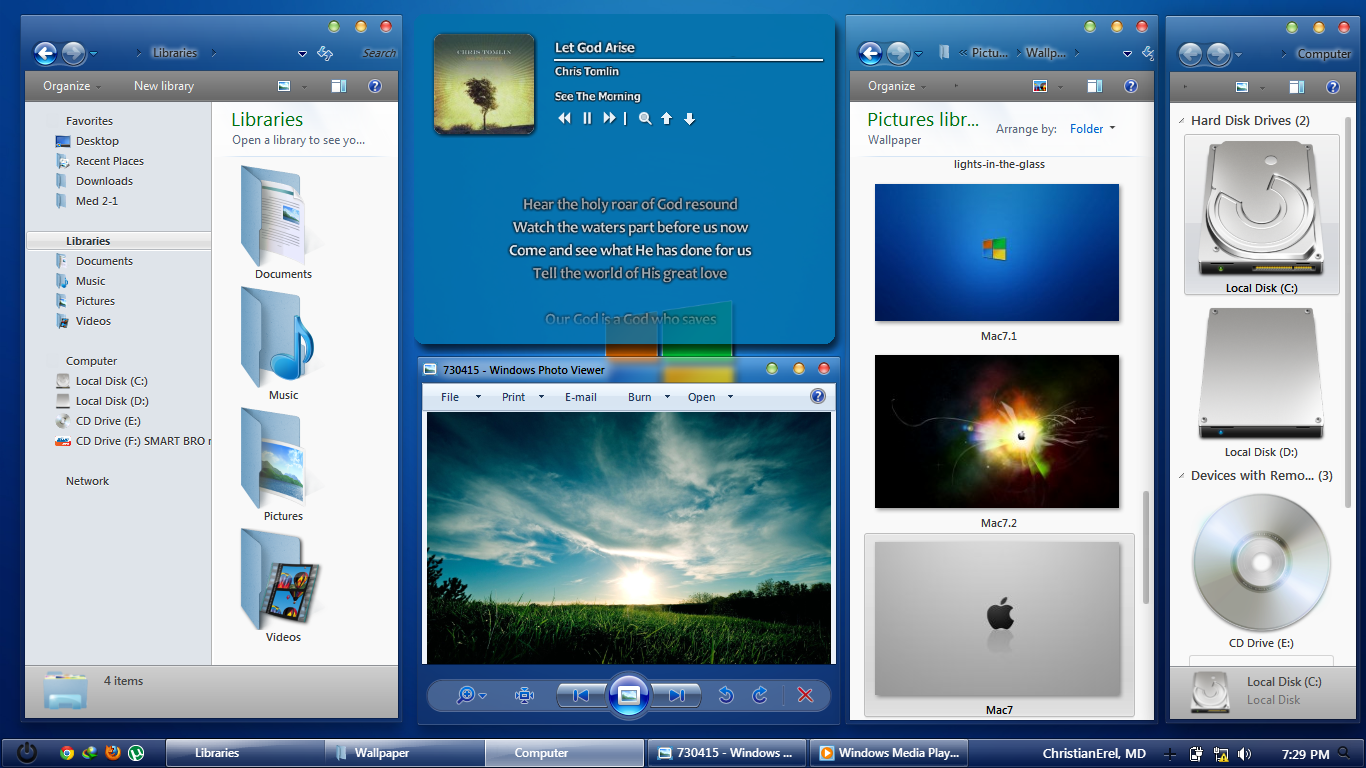 mac style icons windows 7