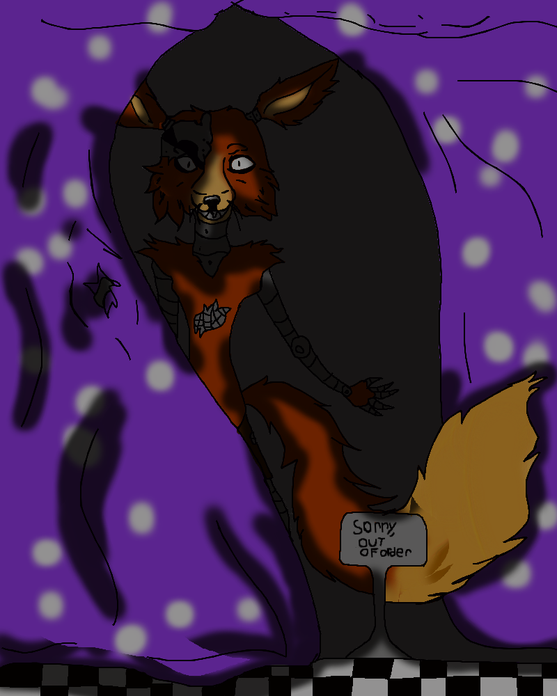 Five Nights At Freddys Foxy. by skylanderlover123