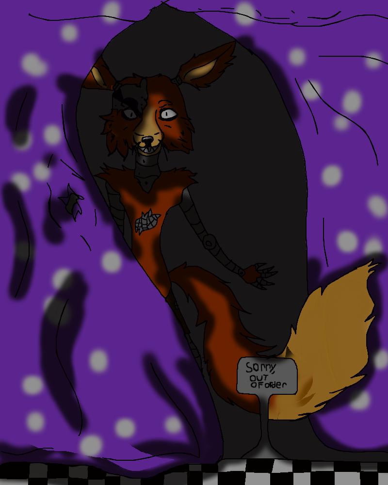 Five Nights At Freddys Foxy. by skylanderlover123