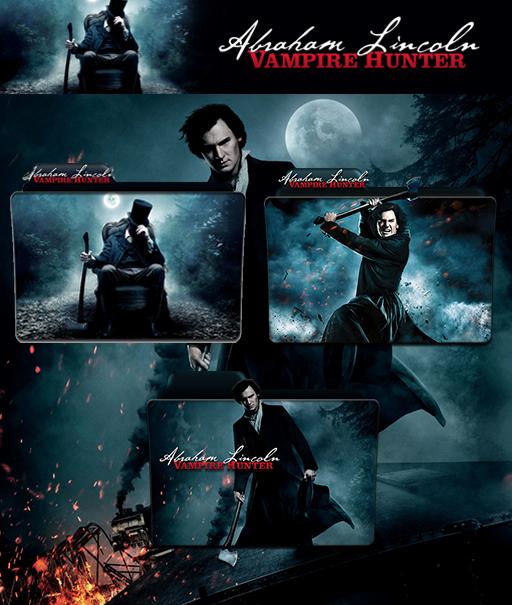Abraham Lincoln Vampire Hunter Folder Icon Pack By Wchannel96 On Deviantart