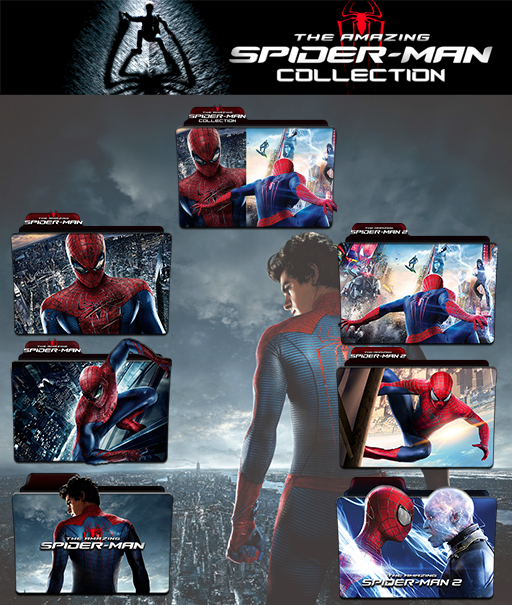 The Amazing Spider Man Collection Folder Icon Pack By Wchannel96 On Deviantart
