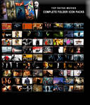 Top Rated Movies Complete Collection Folder Icon P