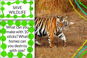Save WildLife Poster by Kittens123456