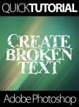 Quick Turorial - Broken Text