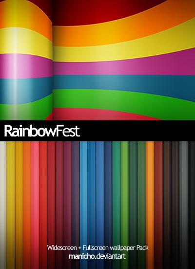 Rainbowfest .wall. by mauricioestrella