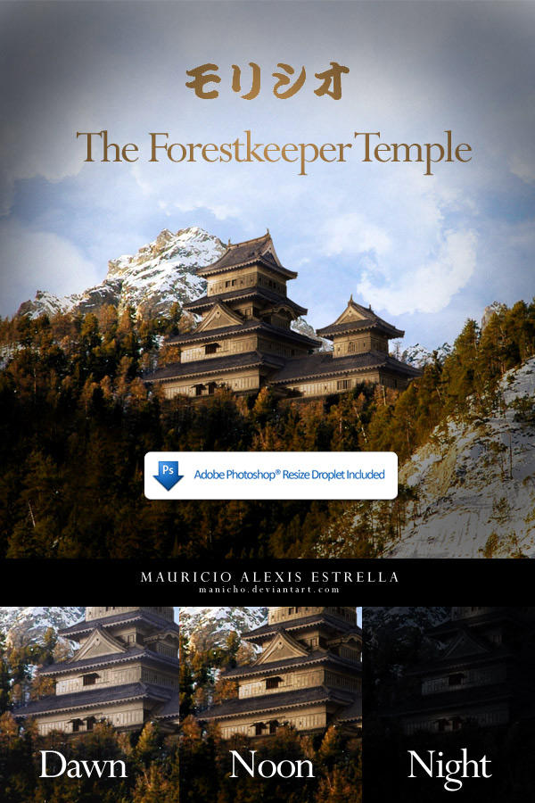 The Forestkeeper Temple by mauricioestrella