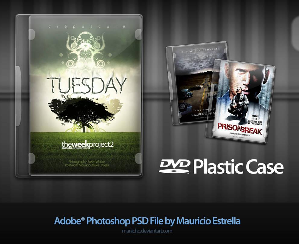 DVD Plastic Case - PSD file by mauricioestrella