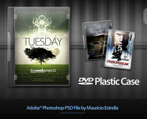 DVD Plastic Case - PSD file