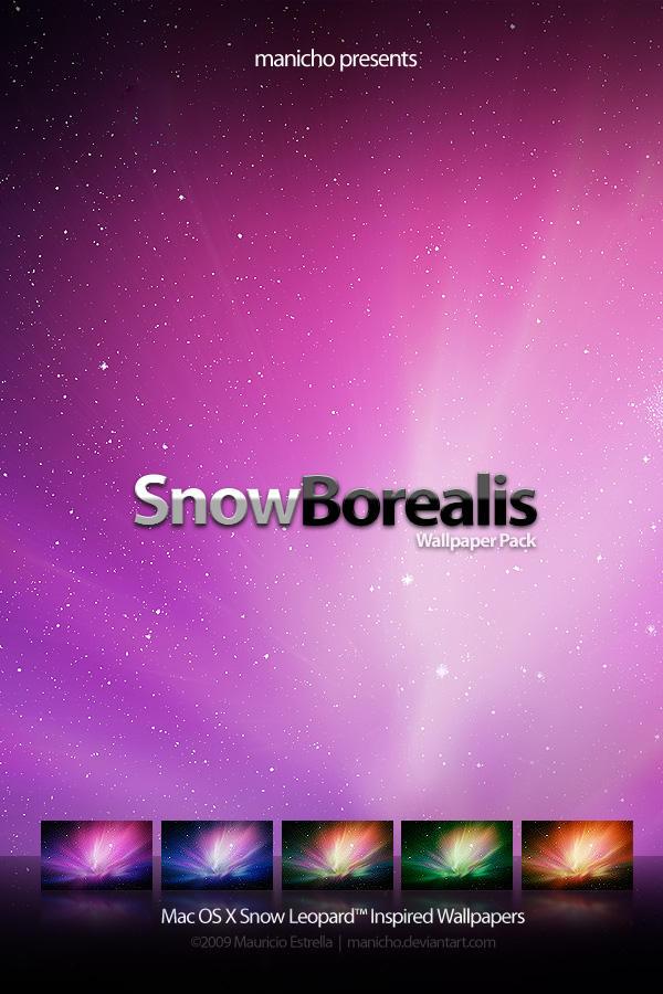 SnowBorealis .wallpaper. by mauricioestrella